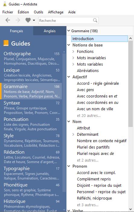 Guides linguistiques