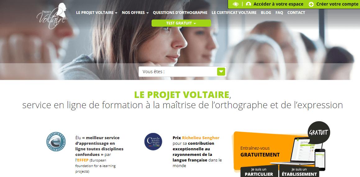 Le Projet Voltaire